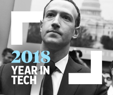 The Year in Tech Review 2018 - Cover