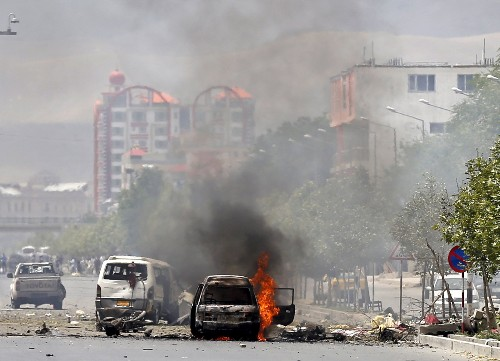 Attack on the Afghan Parliament