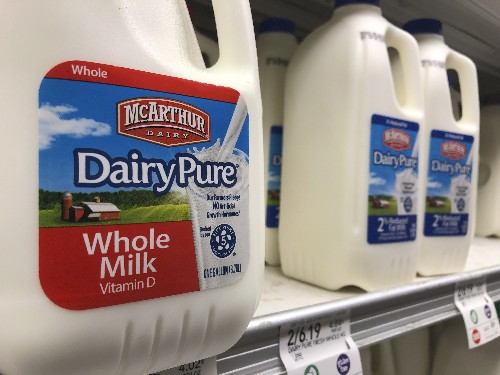 No. 1 milk company declares bankruptcy amid drop in demand