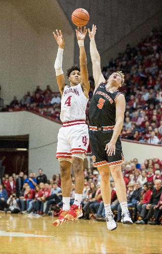 Indiana runs past Princeton, moves to 5-0