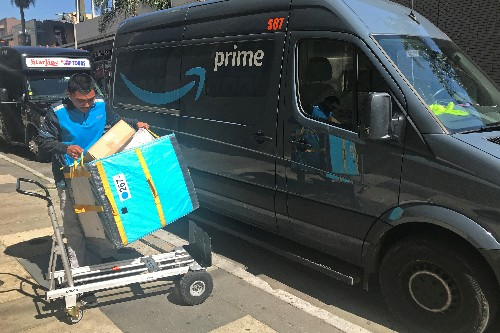 Amazon on-time deliveries slip as record Cyber Monday strains system