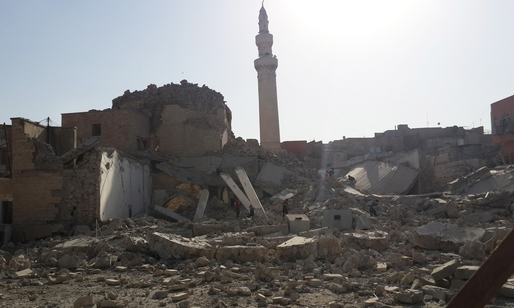 Islamic State destroys ancient Mosul mosque, the third in a week