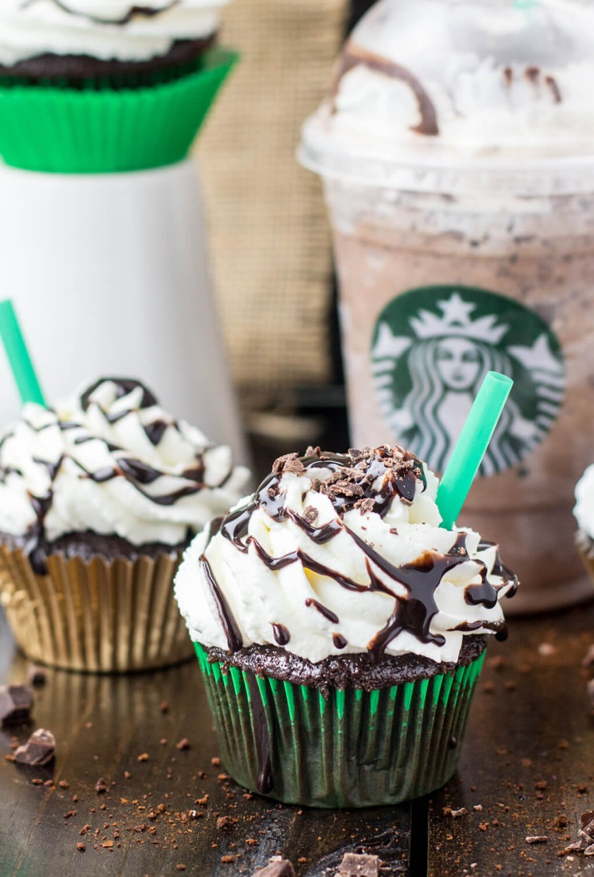Starbucks' Frappaccino Flavored Cupcakes