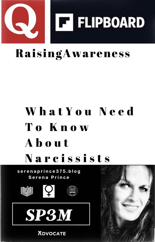What You Need To Know About Narcissists  By  🌹Serena Prince🌹 Posh Ambassador, Quora Author, Cool-Ass Chick - cover