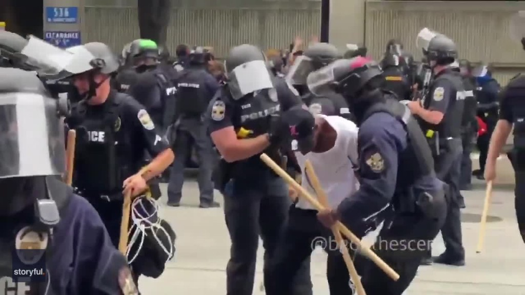 Police Make Arrests, Declare Unlawful Assembly During Breonna Taylor Protest in Louisville