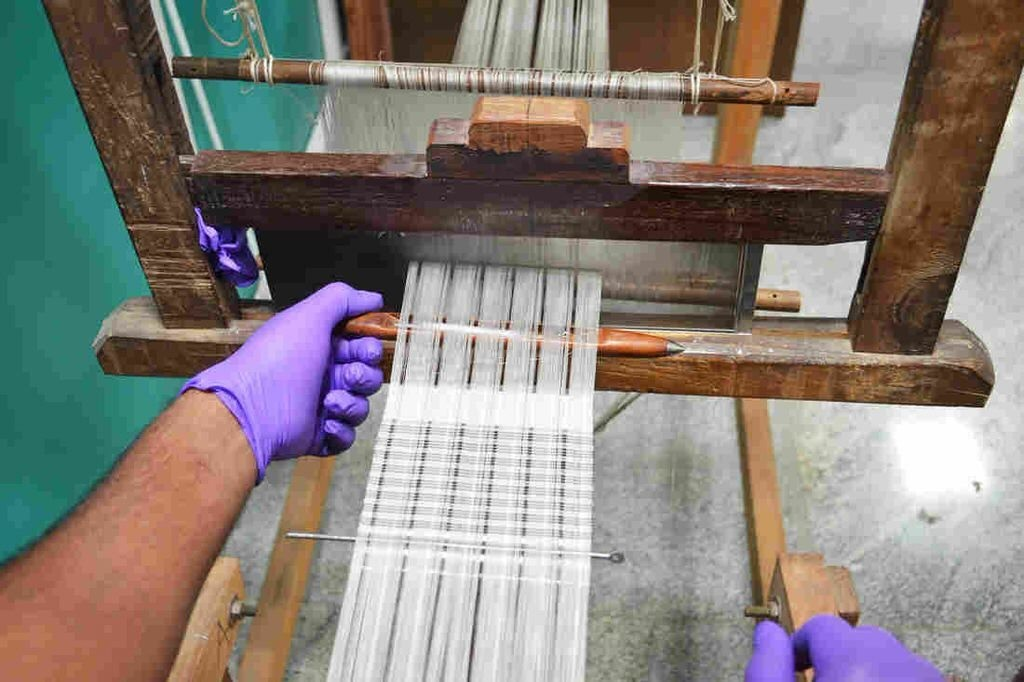 Weavers Turn Silk Into Diabetes Test Strips