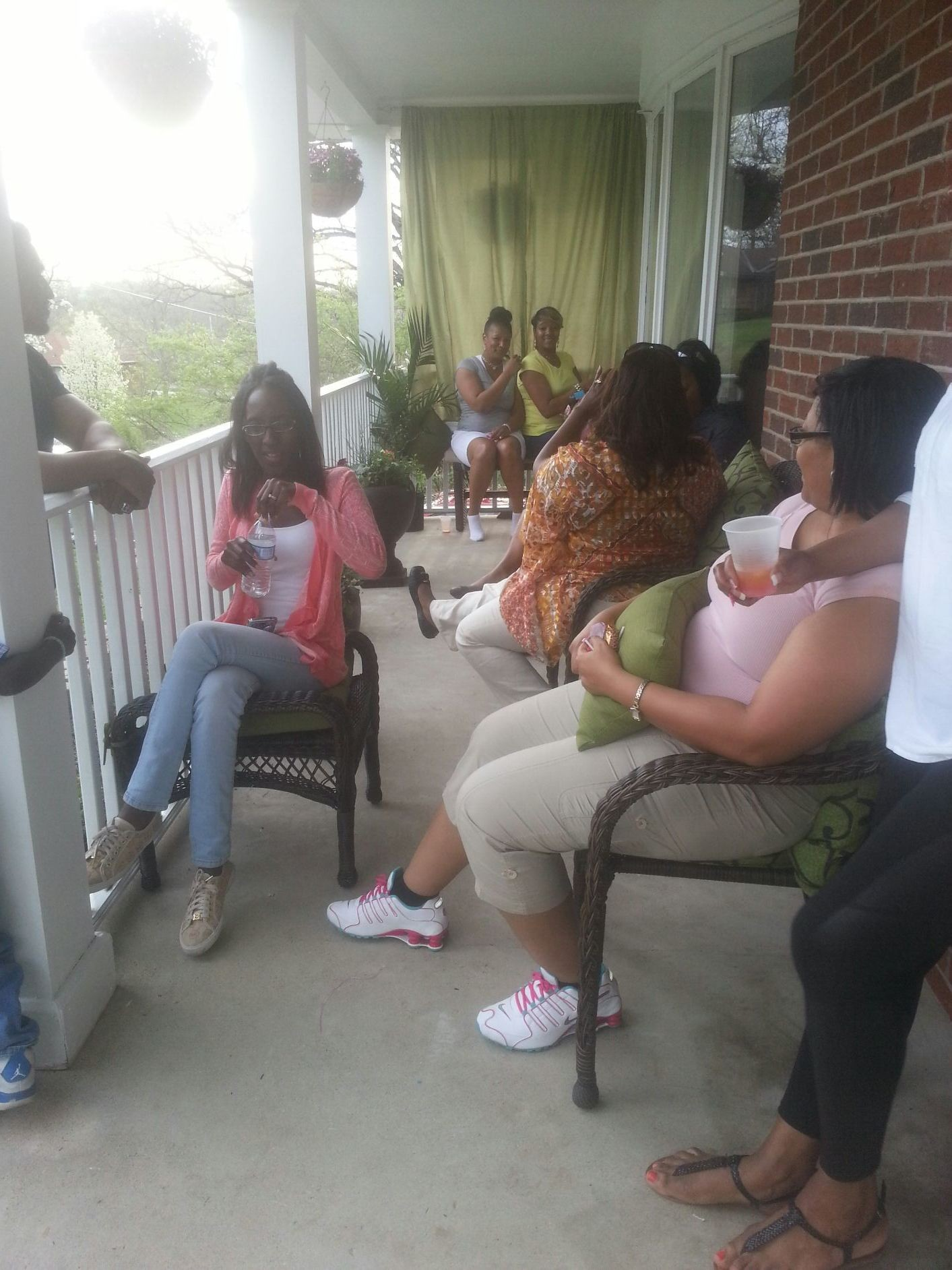 My family on Easter =)