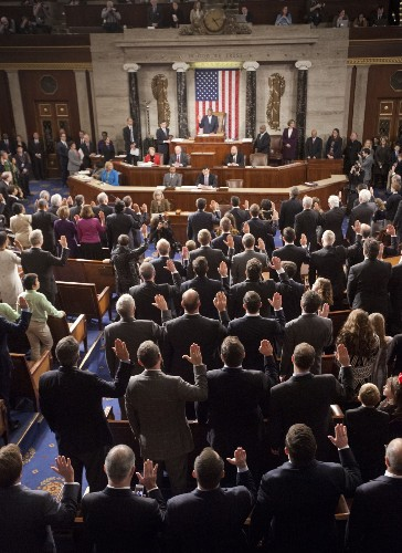The New Congress Comes to Work