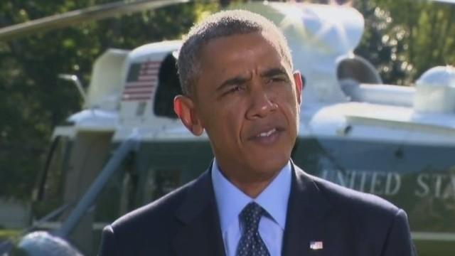 Obama: Syria strikes show coalition