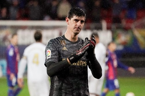 Under-fire Courtois says he is among world's best keepers