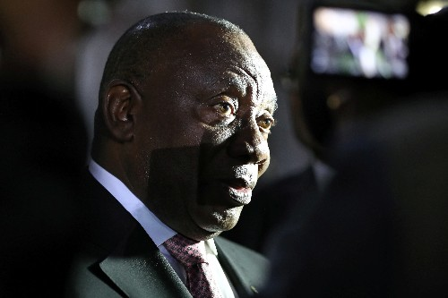 South African deputy president will not be sworn-in as MP today
