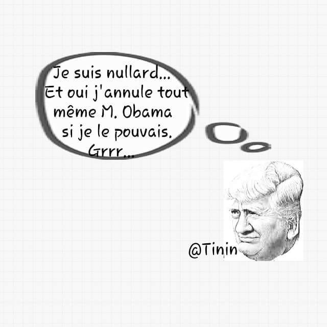 #USA Trump n'aime pas l'Amérique de Barack Obama