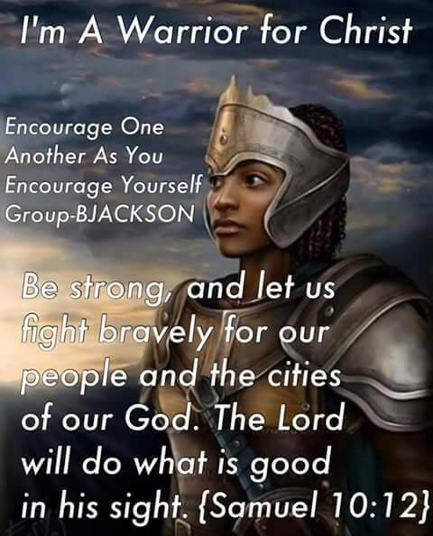 Good Evening Soldiers Of Christ! Arise and Put on the Armor Of Our Lord! Check this Out! Let's Walk Together Victorious! AMEN!