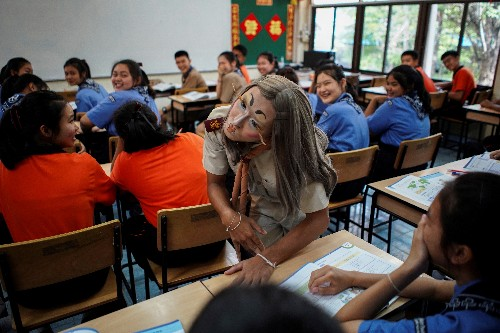 Class act: Thai teacher learns how to make English lessons fun