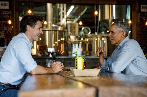 Canada's Trudeau slams rivals for dirty campaign, gets Obama endorsement