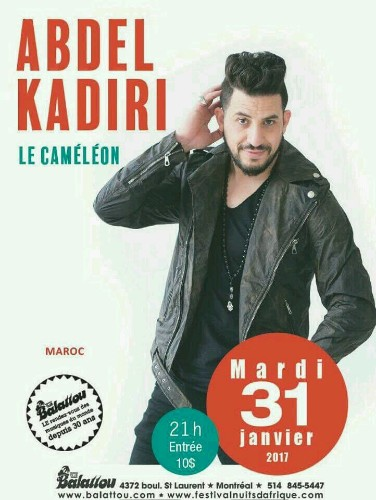 Abdel kadiri - Magazine cover