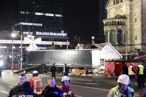 Berliner Polizei hält Unfall oder Anschlag für möglich