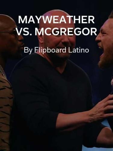 Mayweather y McGregor calientan la previa de una pelea que pretende ser histórica