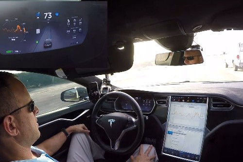 Tesla won't let you use your self-driving Model X to drive for Uber