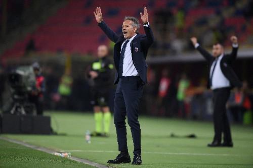 Bologna coach Mihajlovic takes charge of team despite leukaemia treatment