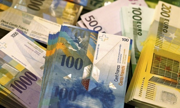 Swiss franc surges as central bank removes peg to euro