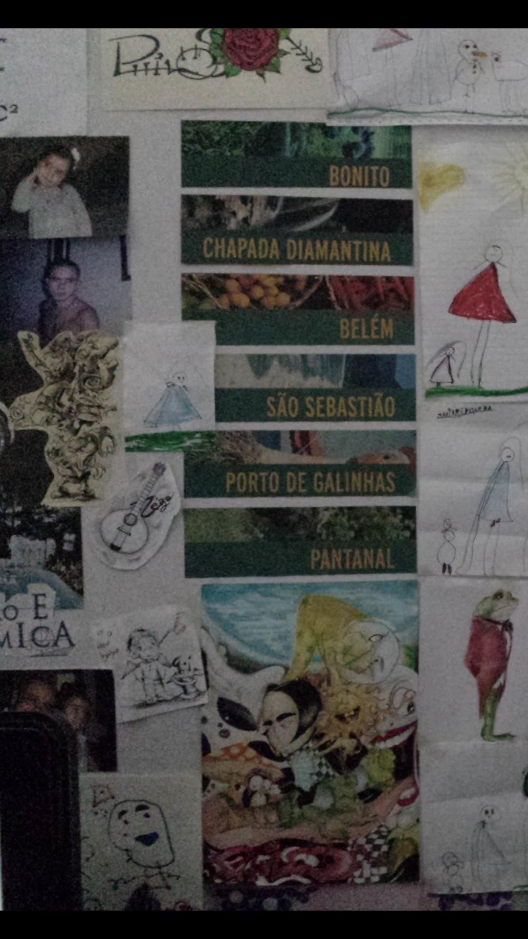 meu mural!