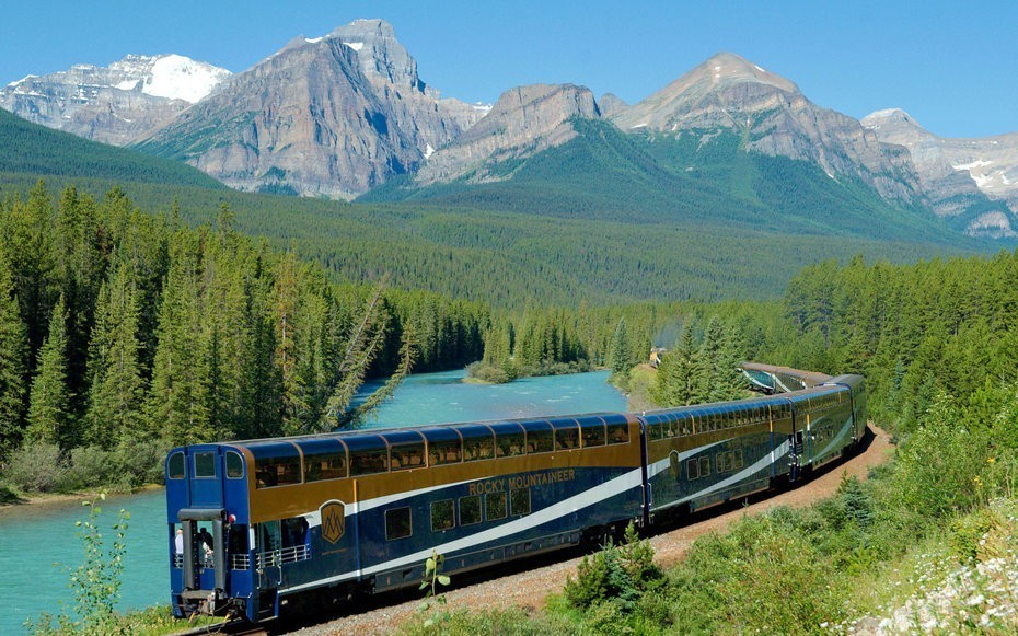 Solo travelers can save on luxury train trips through Canada's national parks
