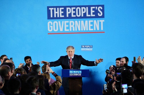 On cusp of big election win, Johnson claims historic mandate for Brexit