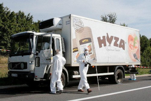 Four jailed for life over death of 71 migrants in Hungarian truck