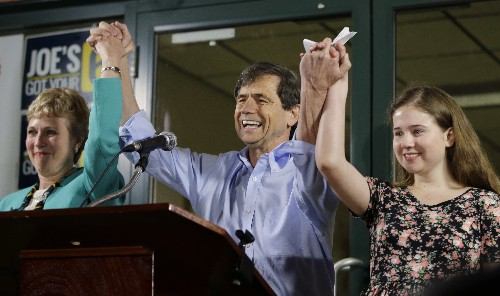 Former congressman Joe Sestak launches presidential campaign