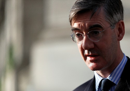 UK lawmaker Rees-Mogg says PM May's Brexit plan is worse than before