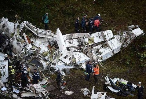 Brasil decreta 3 días de luto por accidente del Chapecoense