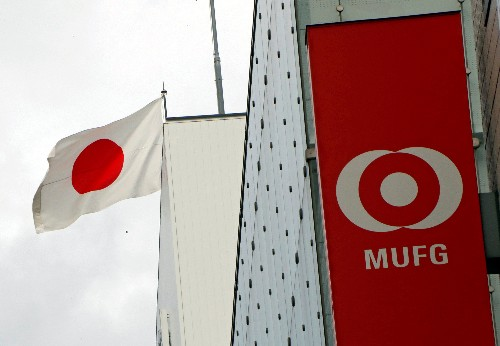 Japan's MUFG to book $890 million charge as cashless competition impacts investment: Nikkei