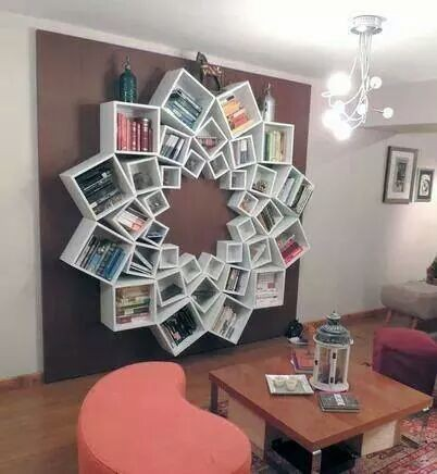 A bookcase to remember
