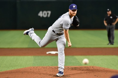 MLB notebook: Brewers' Woodruff (side) likely out 6 week