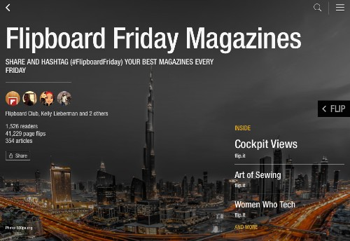 Browse the Best of #FlipboardFriday
