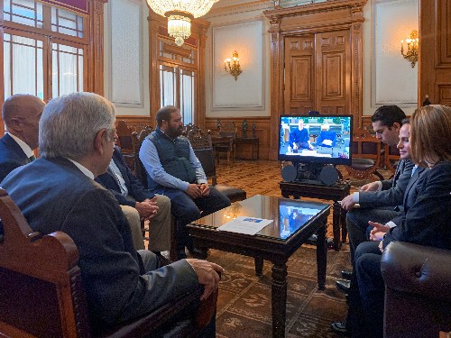 Mexican president pitches universal internet in chat with Facebook's Zuckerberg