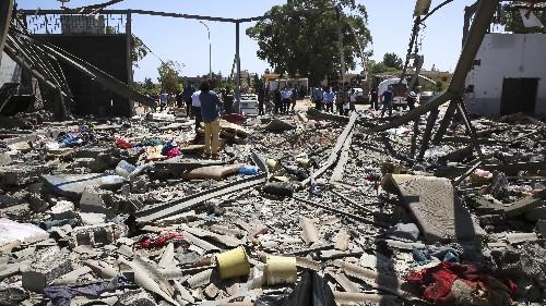 Airstrike kills 44 migrants in Libyan detention center