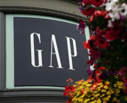 Сопоставимые продажи Gap упали во втором квартале