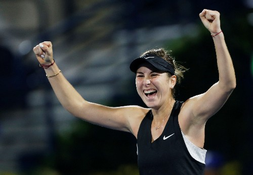 Tennis: Bencic stuns Svitolina to set up Dubai final with Kvitova
