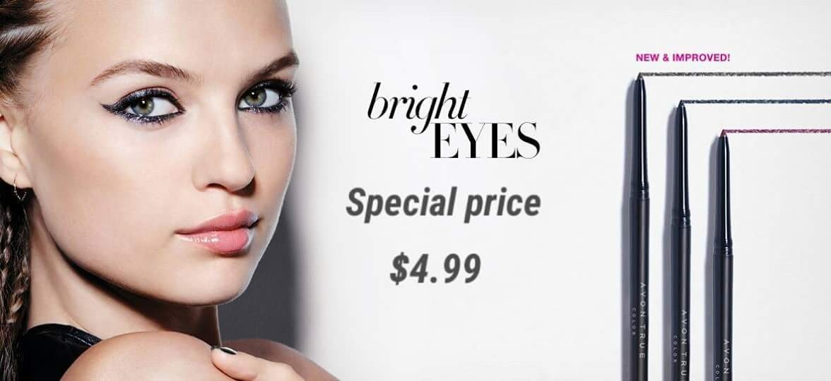 Avon's glimmer stick at its lowest price ever at youravon.com/awright6142 #savings #eyes #AVON