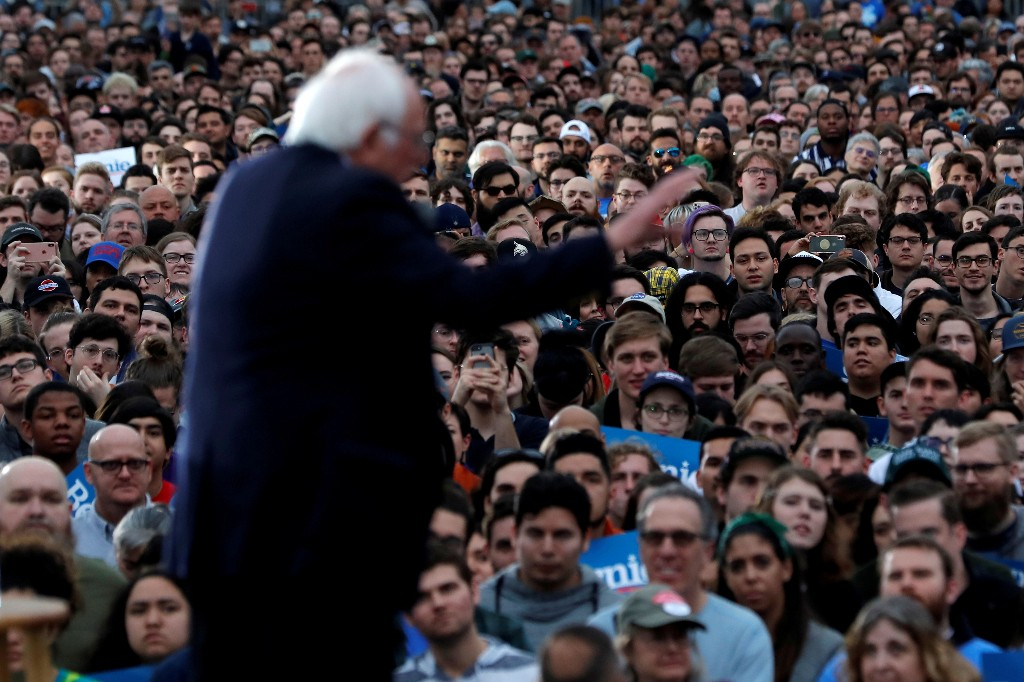 Can Sanders beat Trump? A growing number of Democratic voters say yes