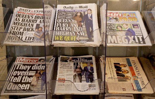 With 'Megxit,' Harry and Meghan aim to control media image