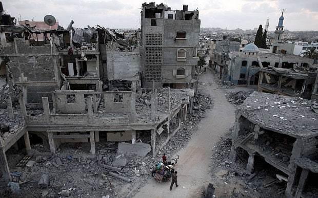 Rebuilding Gaza could take 100 years if Israel keeps blockade, says Oxfam
