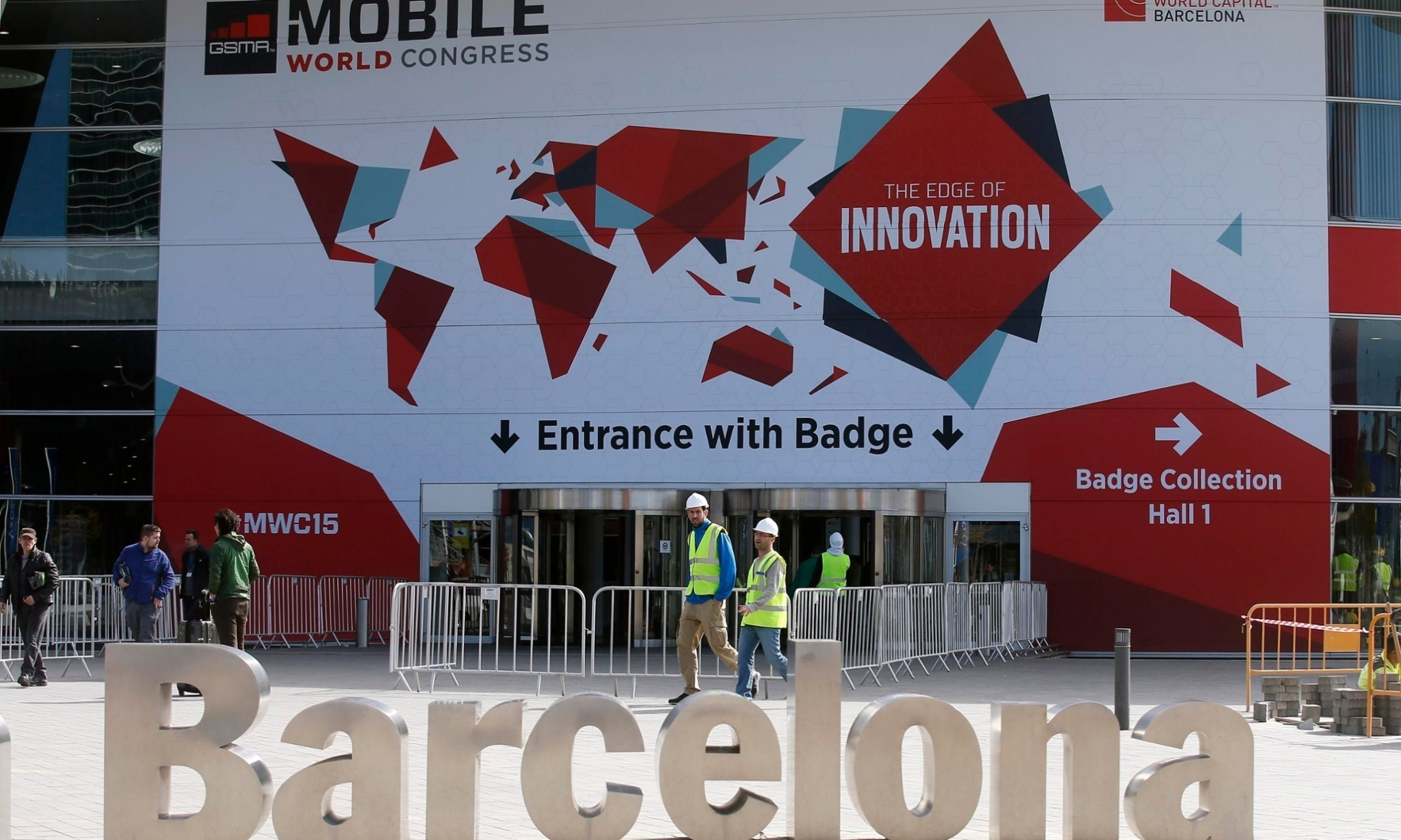 Mobile communications industry gathers in Barcelona for MWC 2015