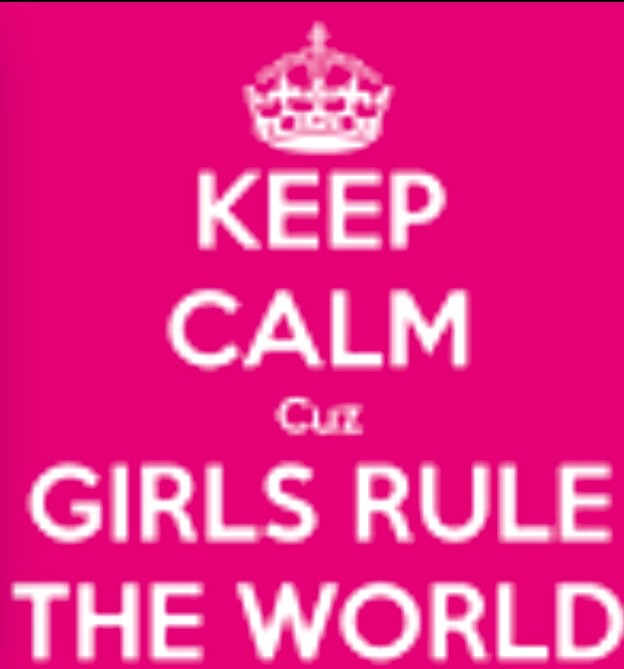 Show that we can rule the world!!!