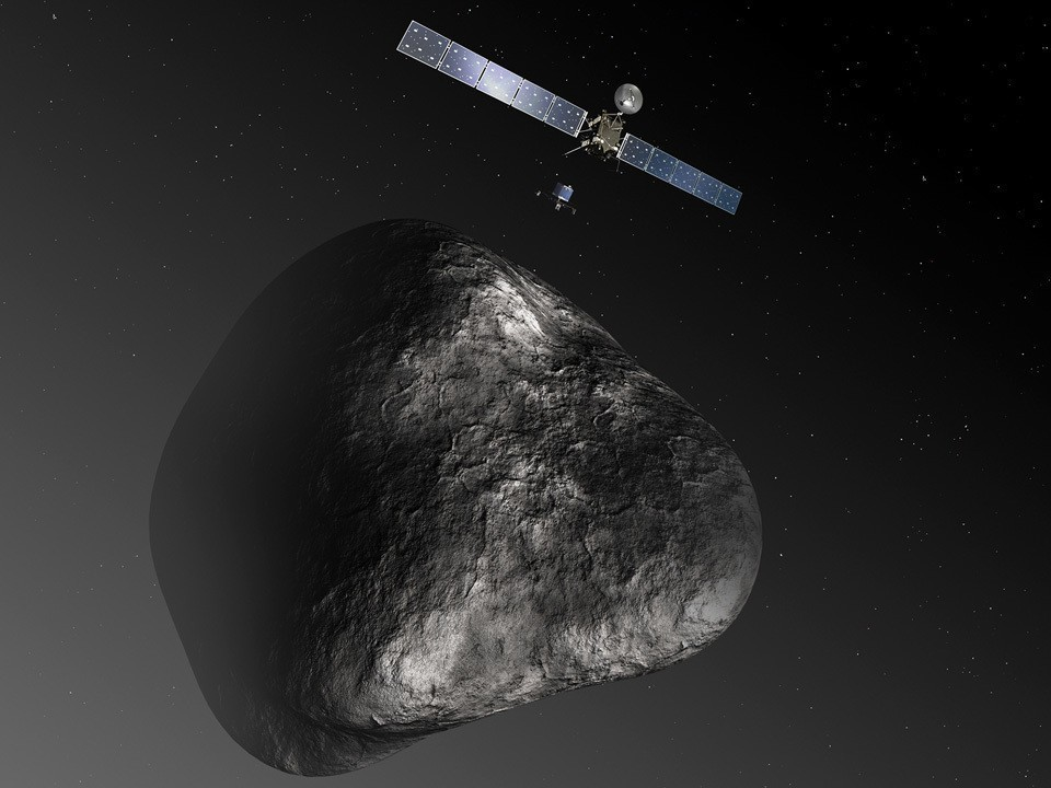 Philae lander makes historic touchdown on comet