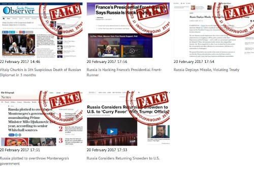 Russia launches website dedicated to flagging 'fake news'