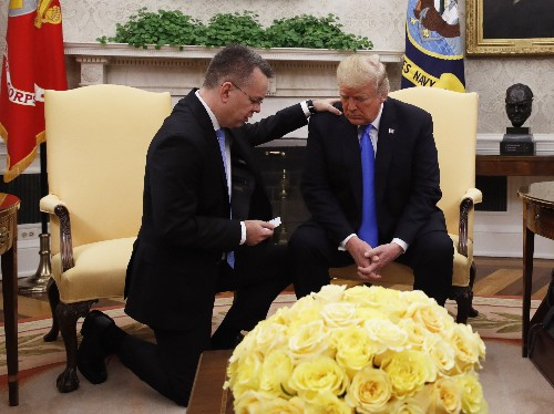 Trump expected to meet American pastor released by Turkey