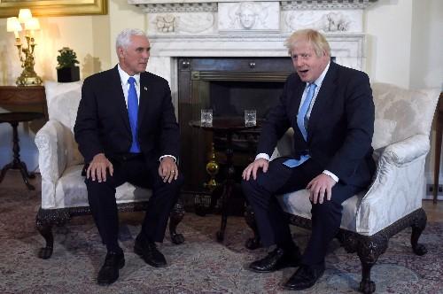 US-Vizepräsident Mike Pence bei Boris Johnson - USA unterstützen Brexit